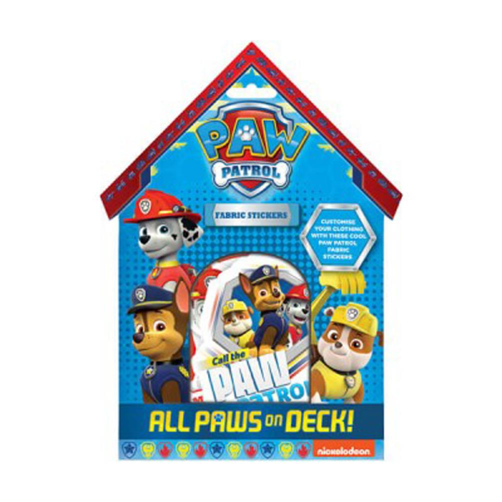 paw patrol fabric stickers ppfbs character brands