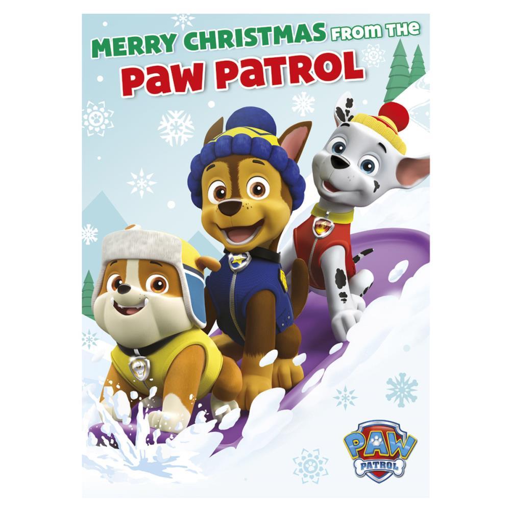 Paw Patrol Christmas.Paw Patrol Christmas Sound Card
