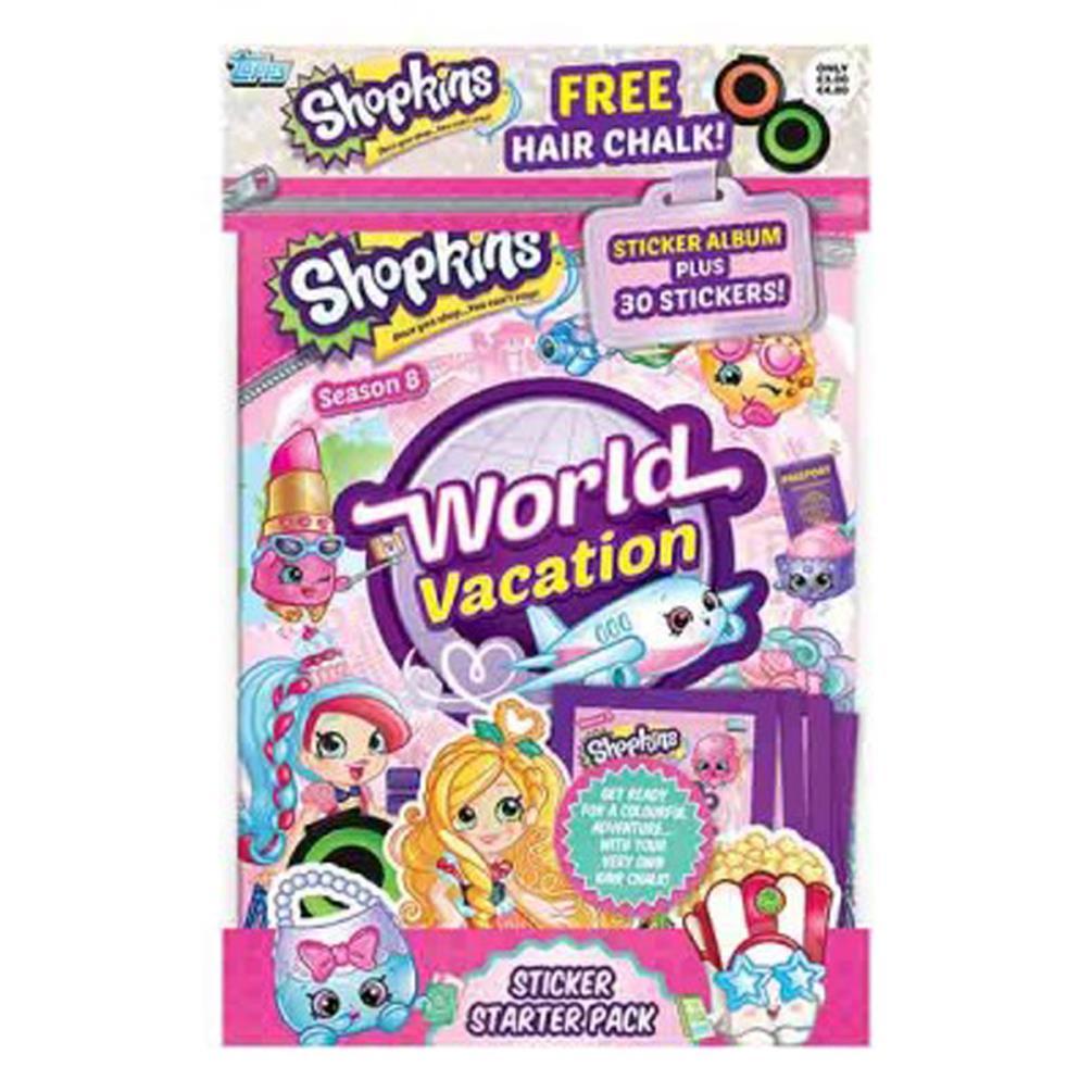 Shopkins World Vacation Sticker Starter Pack GBP399