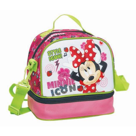Minnie Mouse Style Icon Oval Lunch Bag    £6.99