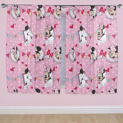 Minnie Mouse Cafe 54 Quot Curtains 5341169 Character Brands