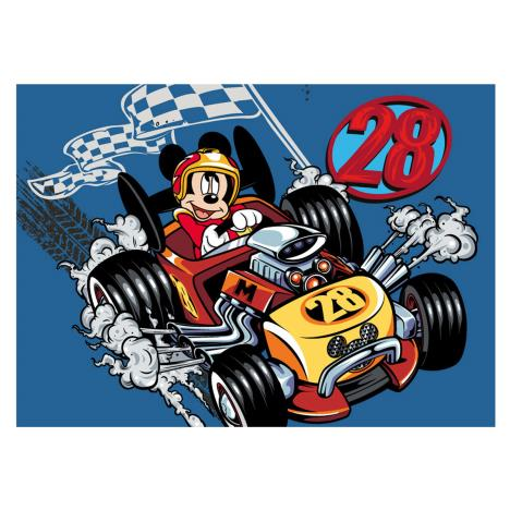 Mickey Mouse Racer Rug 5414956403207 Character Brands