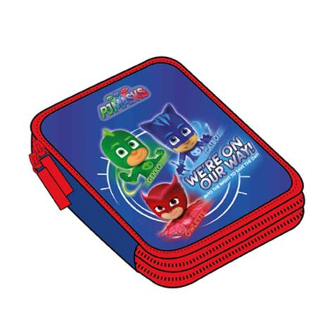 PJ Mask Triple Decker Filled Pencil Case  £10.99