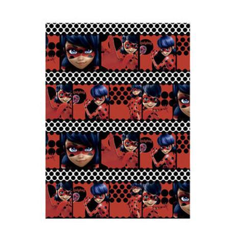 Miraculous Ladybug White Polka Dot 2m Roll Wrap 8414778559493 6 Character Brands