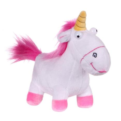 Fluffy Unicorn Despicable Me Small Soft Plush Toy  £6.99