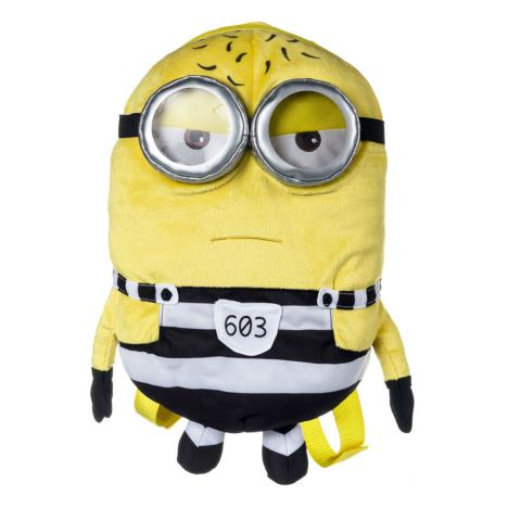 Minion Tom In Jail Minions Plush Backpack  £12.99
