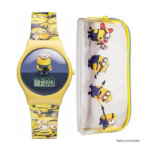 Minions Digital Watch & Pencil Case Set   £8.99