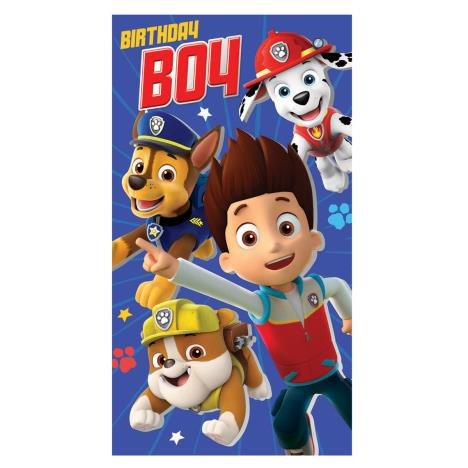 Obsessed image for paw patrol printable birthday card