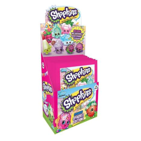 Shopkins Sparkle Sticker Pack   £0.39
